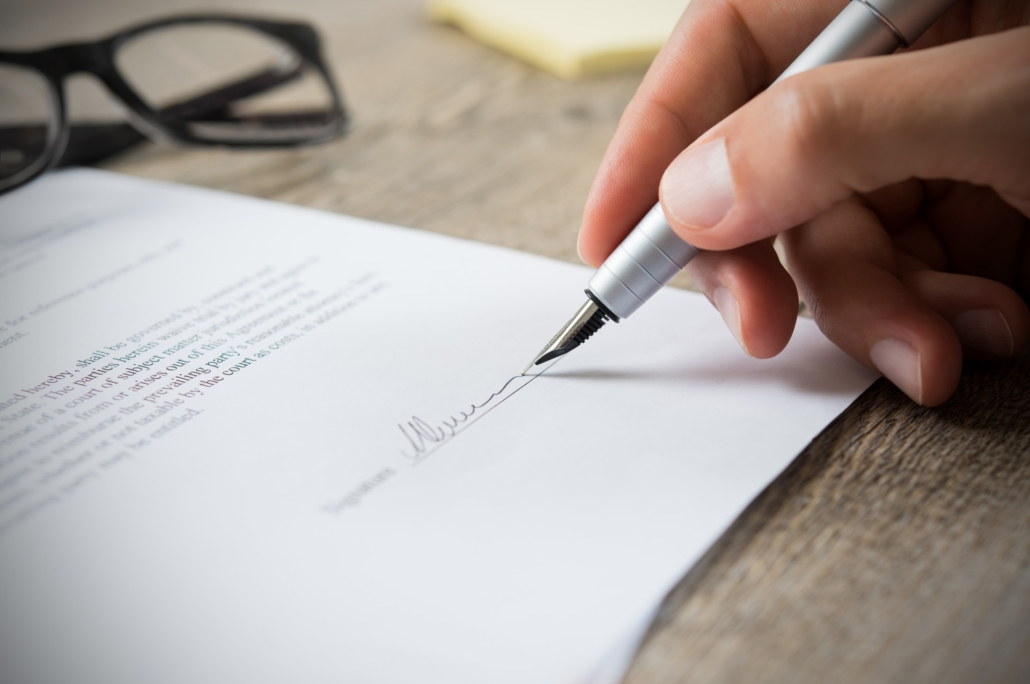 Londons best notary service